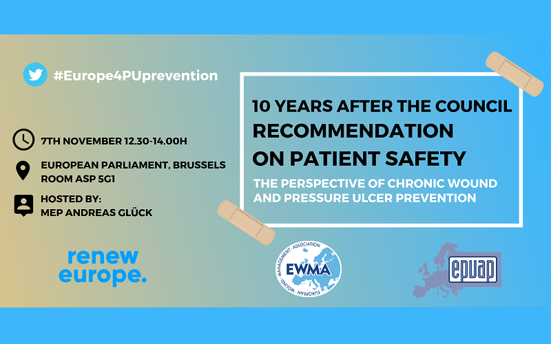 EWMA-EPUAP AT EUROPEAN PARLIAMENT