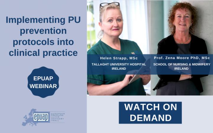 EPUAP webinar on demand clinical practice