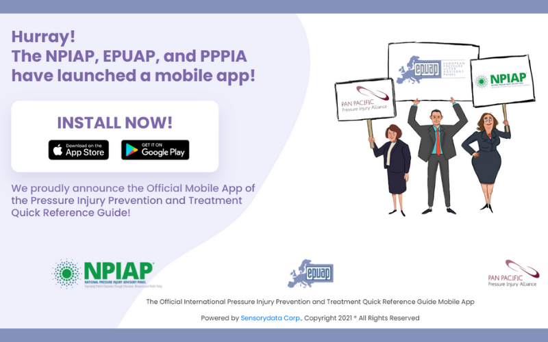 Official Mobile App of the Pressure Injury Prevention and Treatment