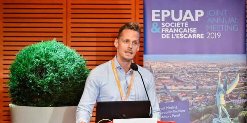 President of EPUAP Dimitri Beeckman